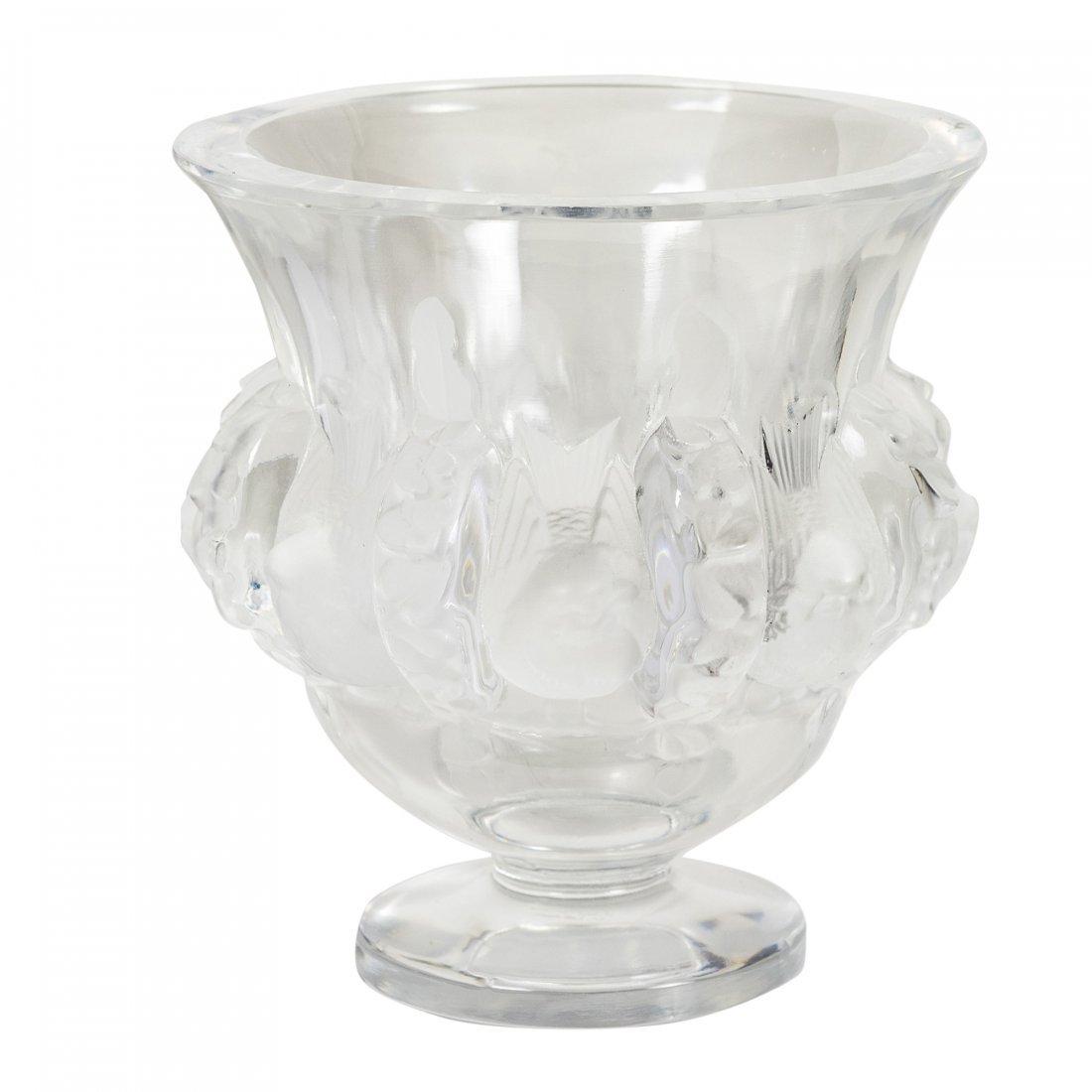 Lalique - Paris, France (Modern) Crystal Vase