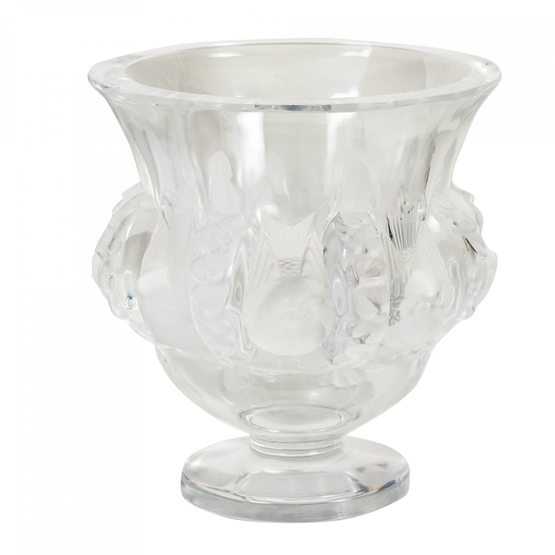 Lalique - Paris, France (Modern) Crystal Vase