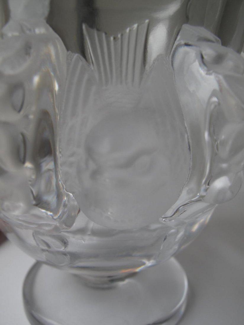 Lalique - Paris, France (Modern) Crystal Vase - 3