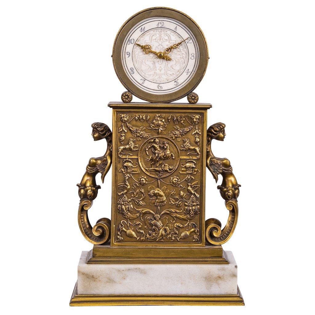 Edward F. Caldwell & Co. Fine Mantel Clock