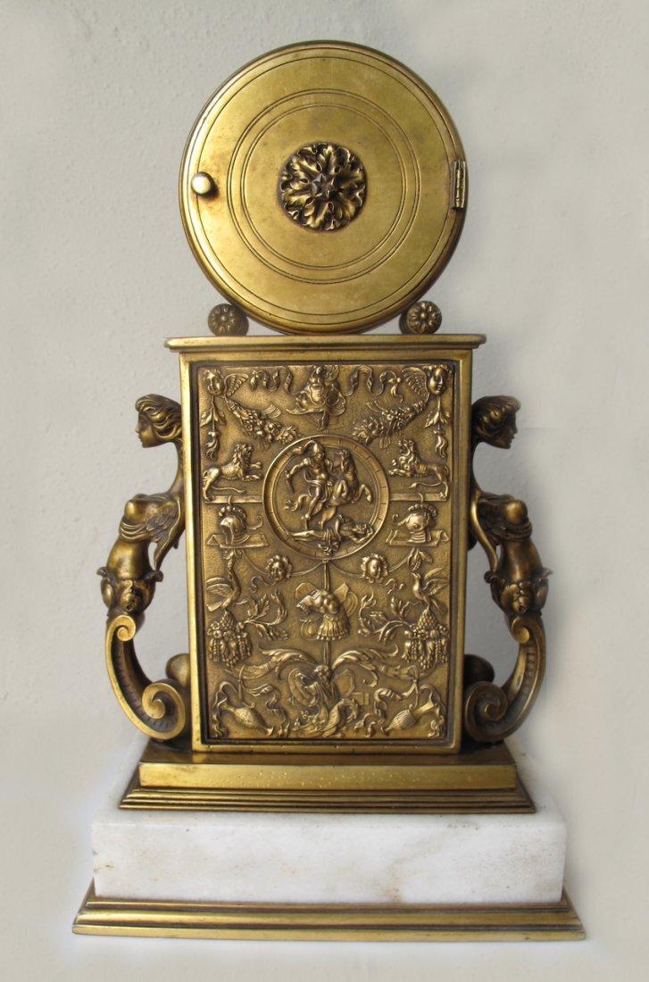 Edward F. Caldwell & Co. Fine Mantel Clock - 2
