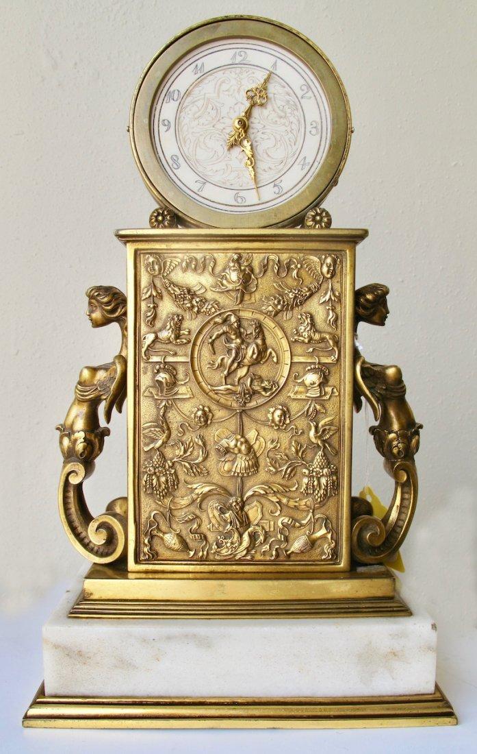 Edward F. Caldwell & Co. Fine Mantel Clock - 3