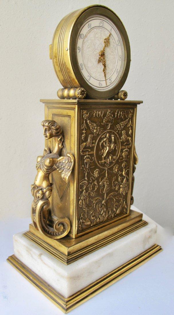 Edward F. Caldwell & Co. Fine Mantel Clock - 4