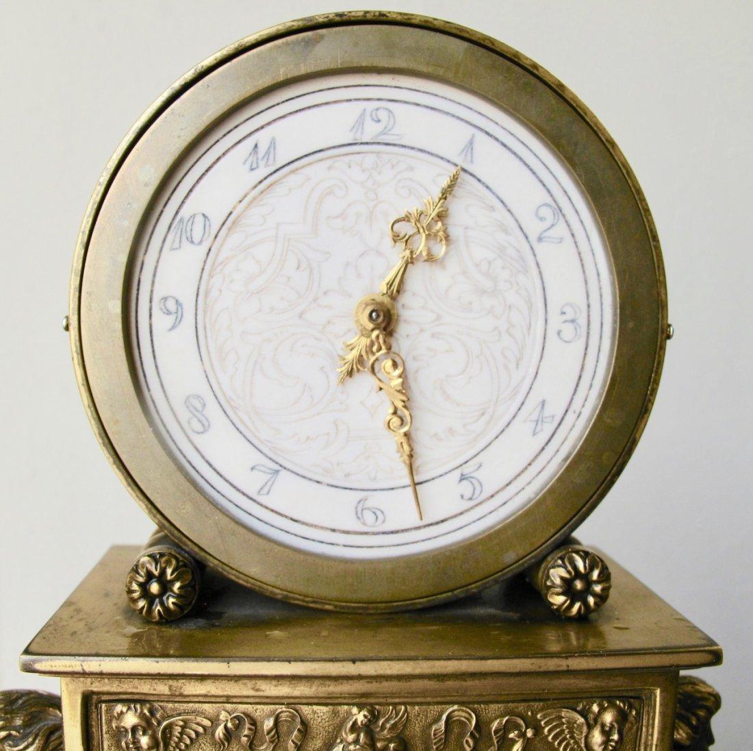 Edward F. Caldwell & Co. Fine Mantel Clock - 5