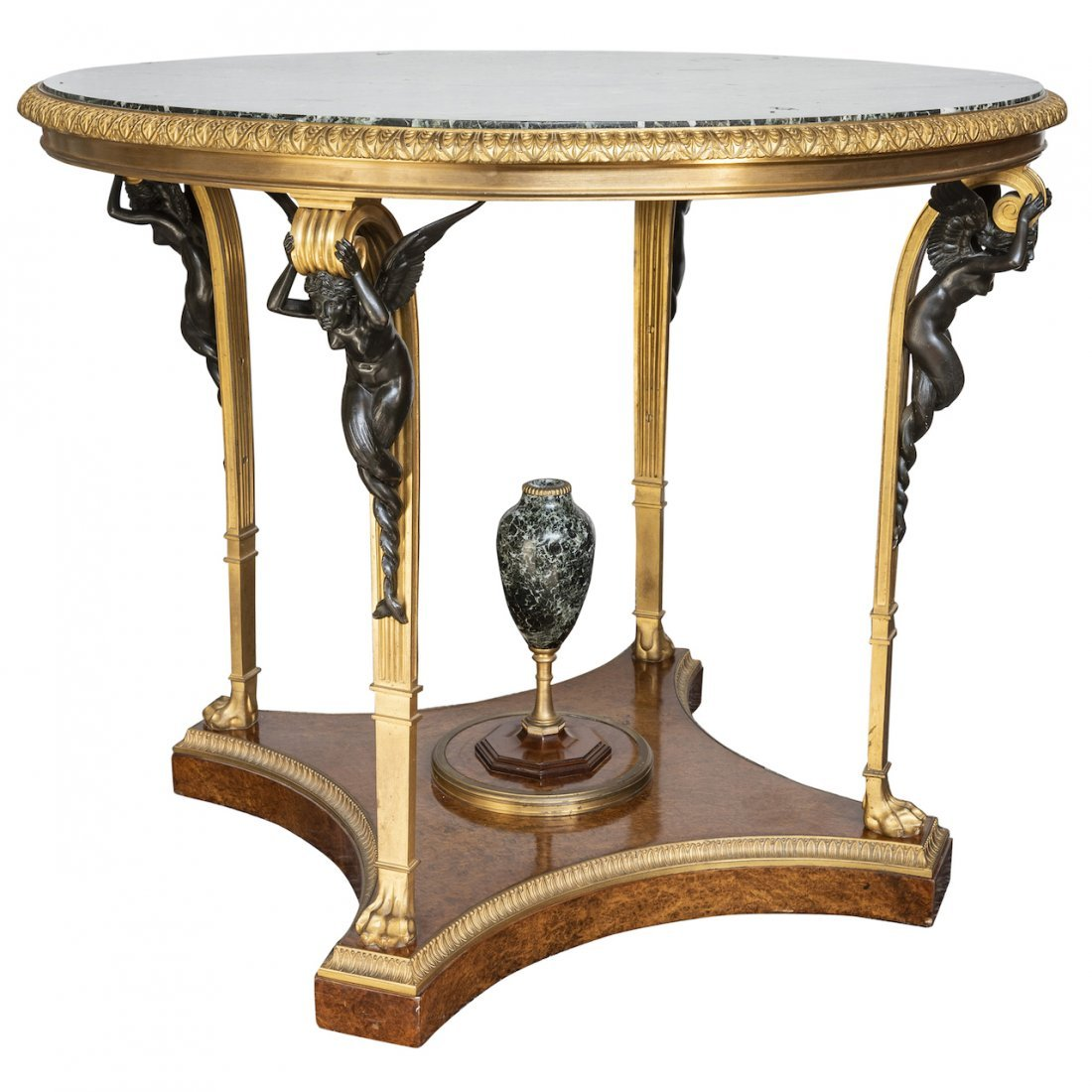 Very Fine French Center Table, XIX'th Century