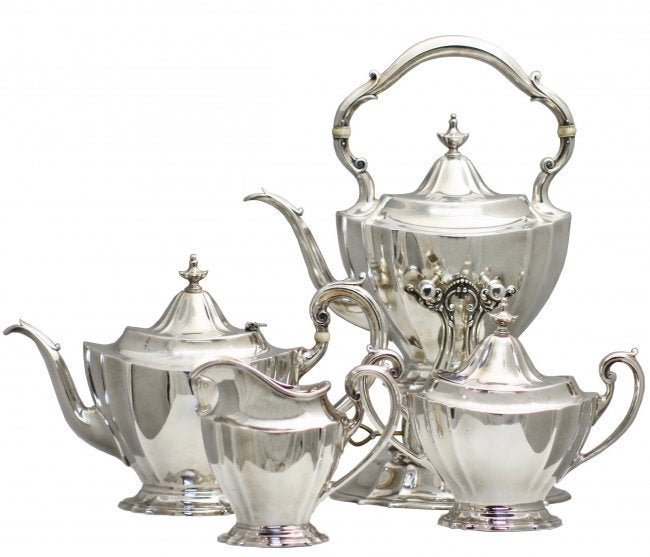 Reed and Barton Sterling Silver Tea Service
