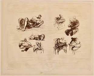 Henry Moore, English, 1898-1986.