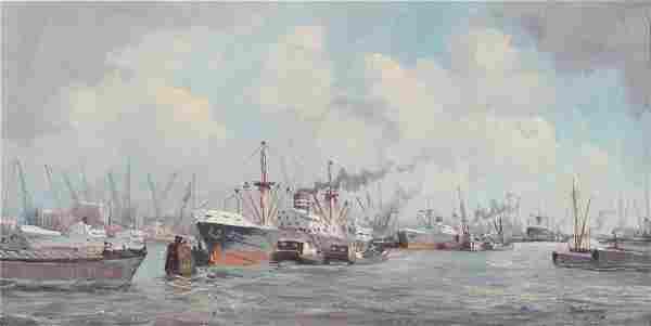 Marinus Johannes DE JONGERE (1912-1978) Oil on Canvas