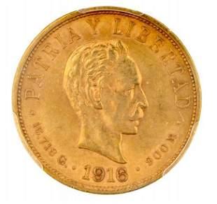 Diez Pesos, Republica De Cuba 1916