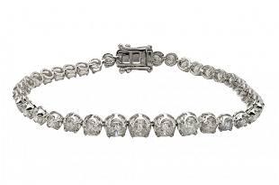 Fine Diamond Tennis Bracelet