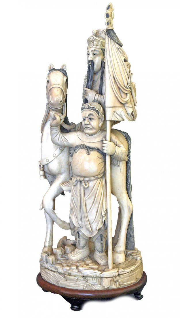 Ivory Carving, Yo Fei , x Sassoon Collection, 19th Cent