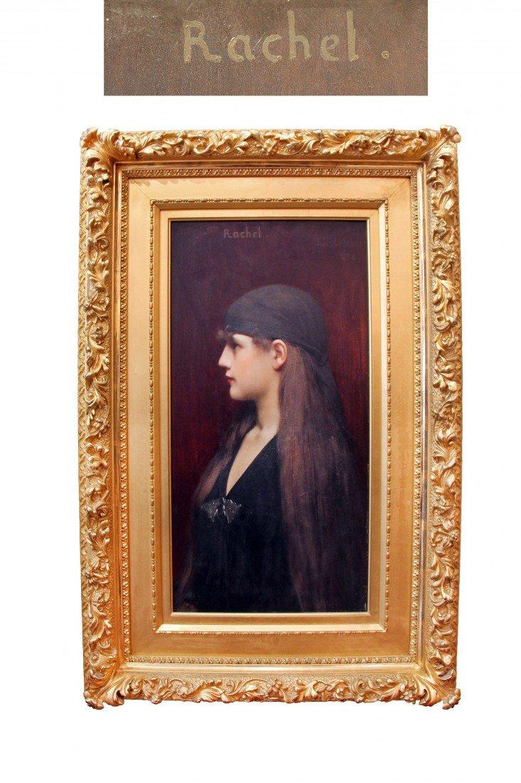 Jules Joseph Lefebvre (French) 1836-1911     Rache