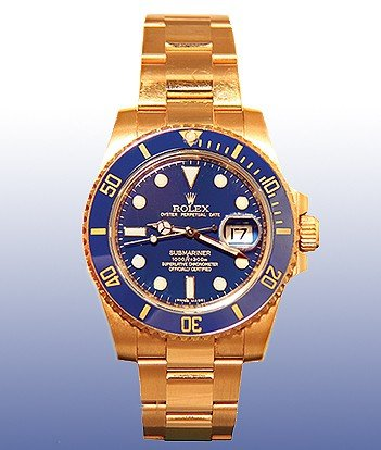 Rolex Gents Oyster Perpetual Submariner Date, 40mm, 18k