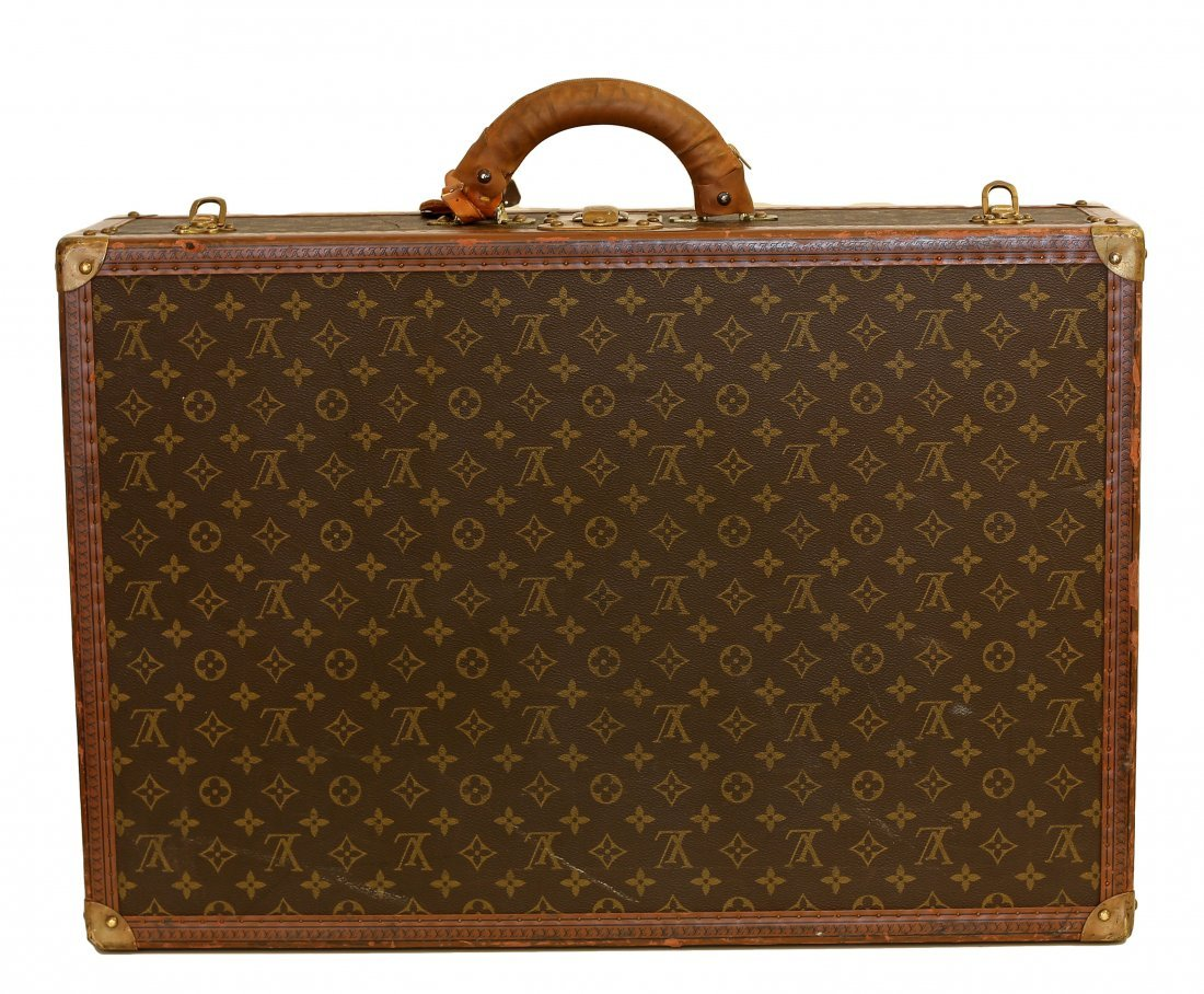 LOUIS VUITTON HARD SIDED SUITCASE - 2