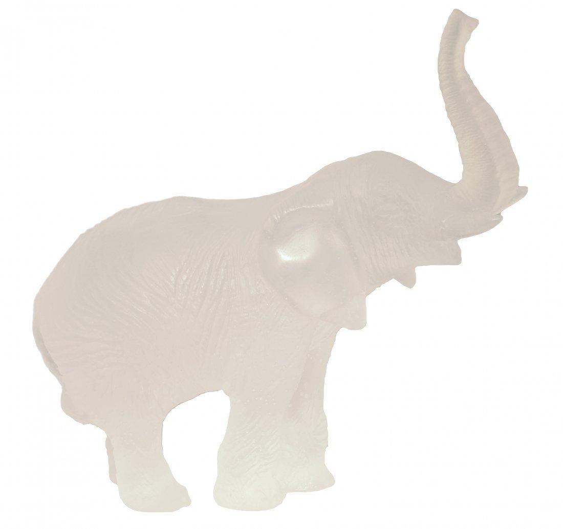 """DAUM CRYSTAL """"ELEPHANT"""", FRENCH, MODERN."""