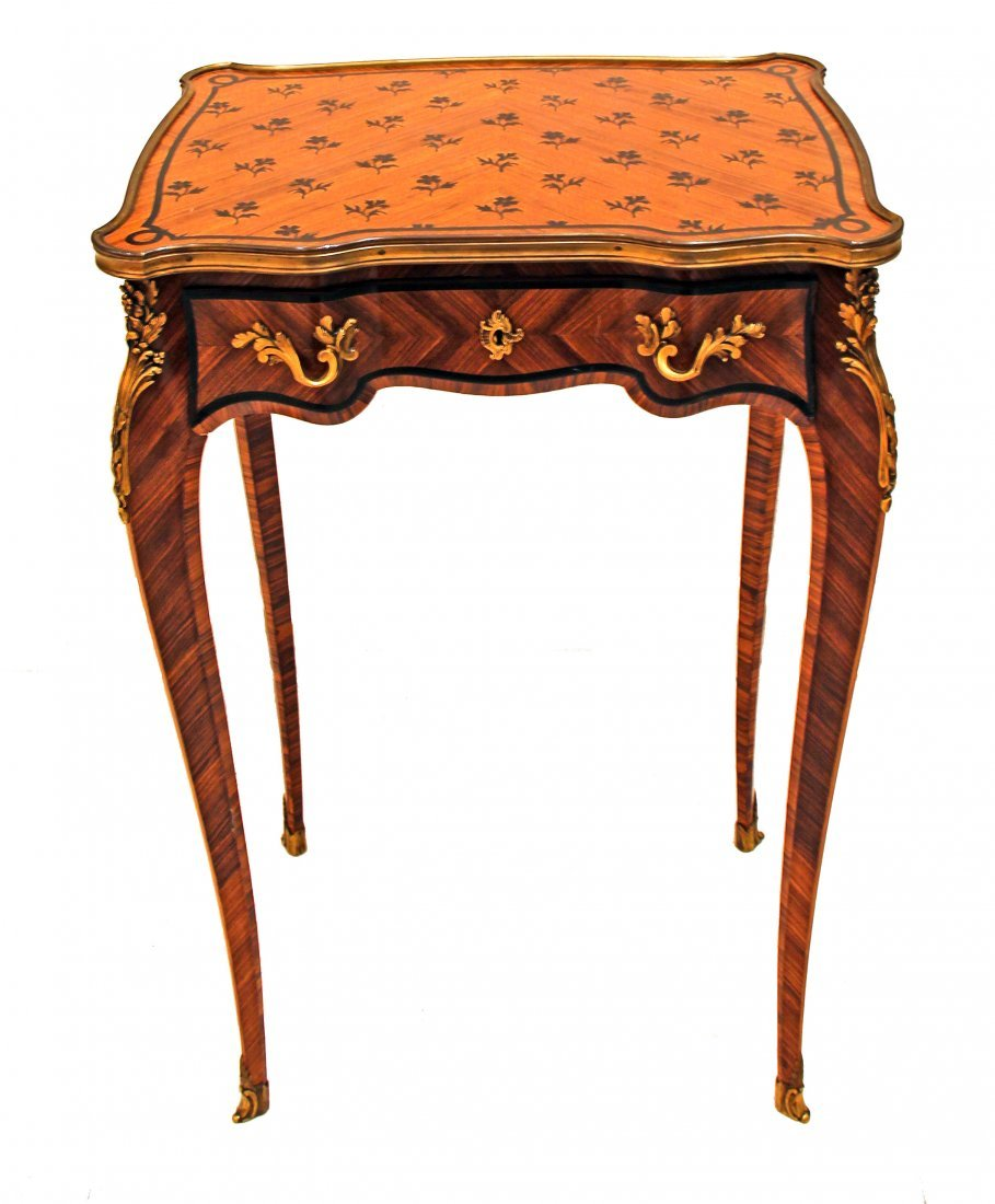 PAUL SORMANI OCCASIONAL TABLE, FRENCH, CIRCA 1880.