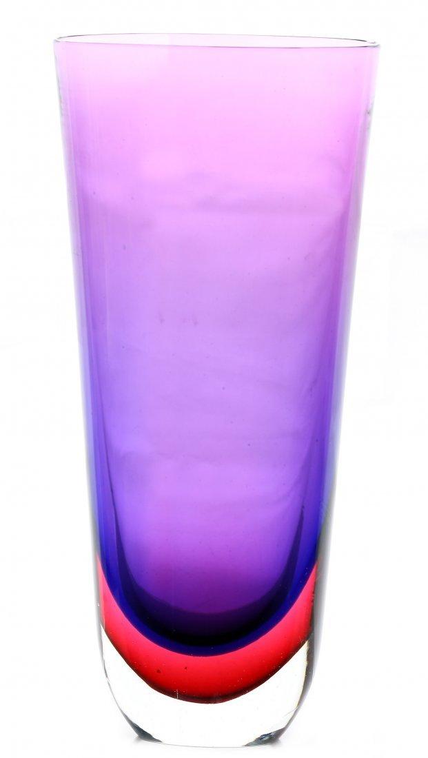 14: VENETIAN GLASS VASE