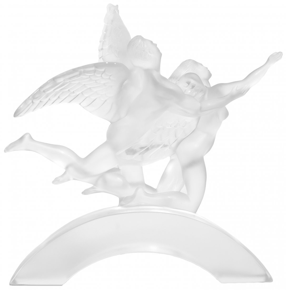 "LALIQUE ""EDEN CELEBRATION 200"" LTD EDITION SCULPTURE"