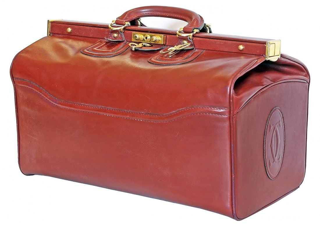 LE MUST DE CARTIER LEATHER BAG