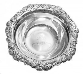 TIFFANY & CO. STERLING SILVER BOWL CIRCA 1900