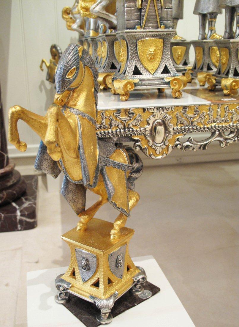 PALACE SIZE SUN KING CHESS SET BY PIERO BENZONI - 4
