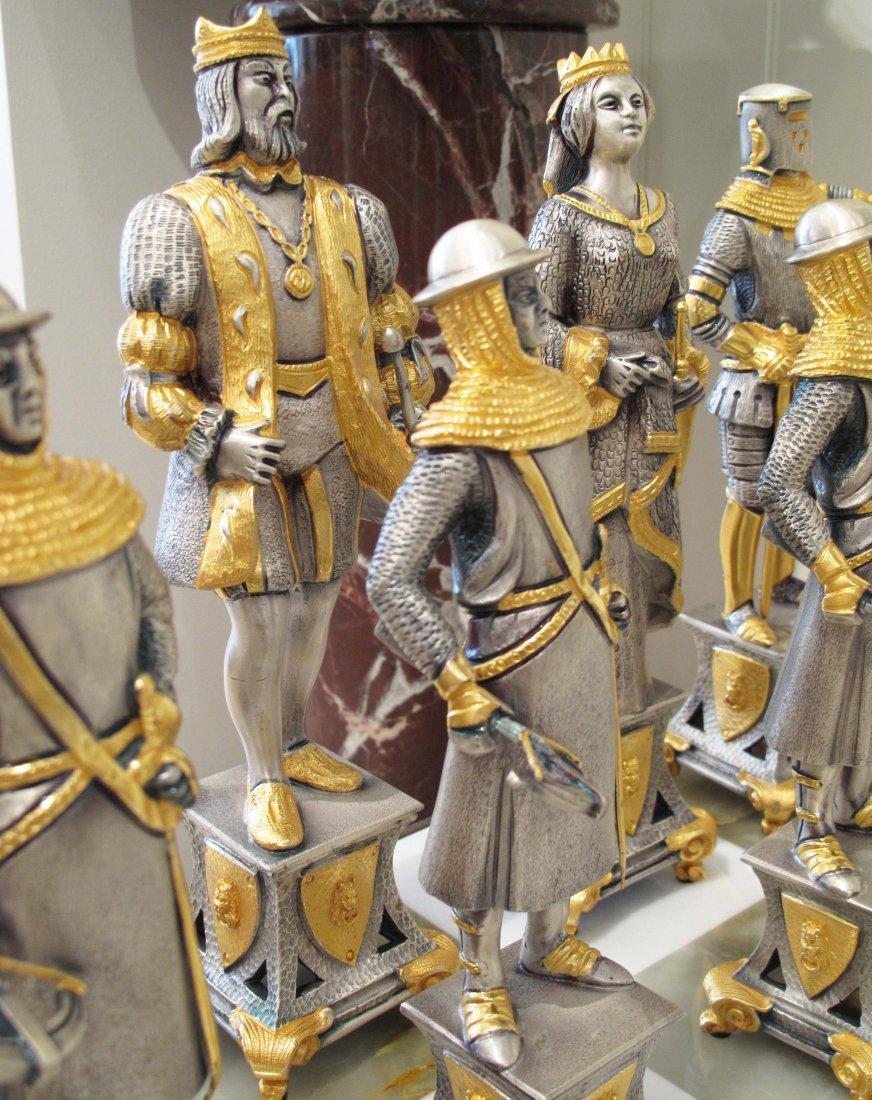 PALACE SIZE SUN KING CHESS SET BY PIERO BENZONI - 5
