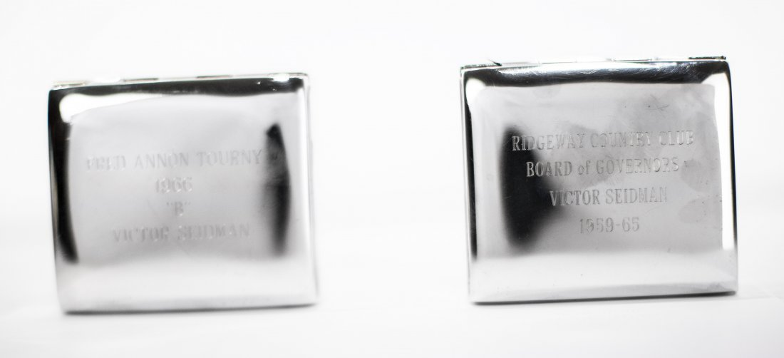 TWO AMERICAN SILVER BOXES