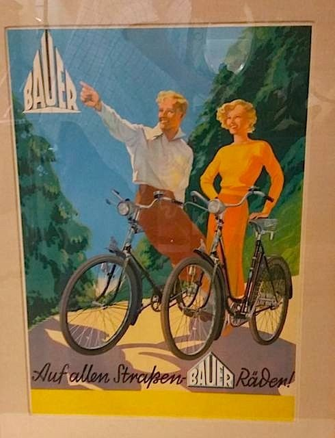 TWO VINTAGE BICYCLE POSTERS - 2