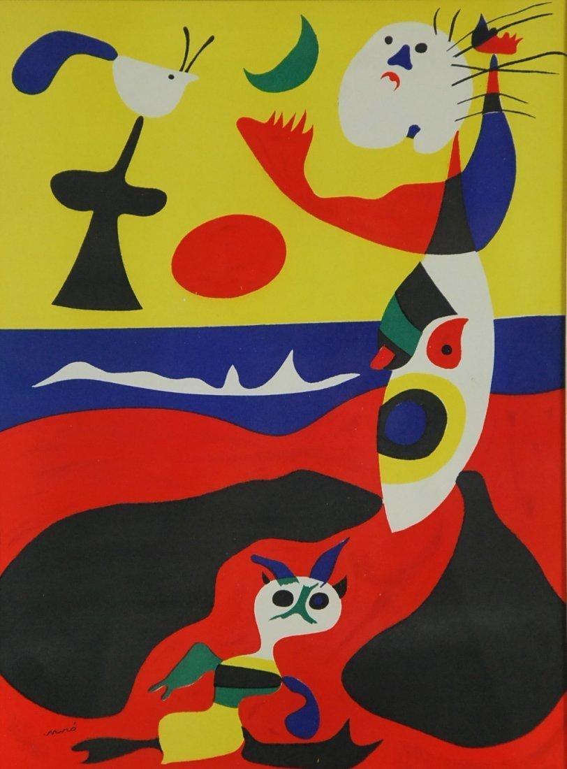 """JOAN MIRO NO RESERVE, """"L ete', """"Summer"""", 1938"""