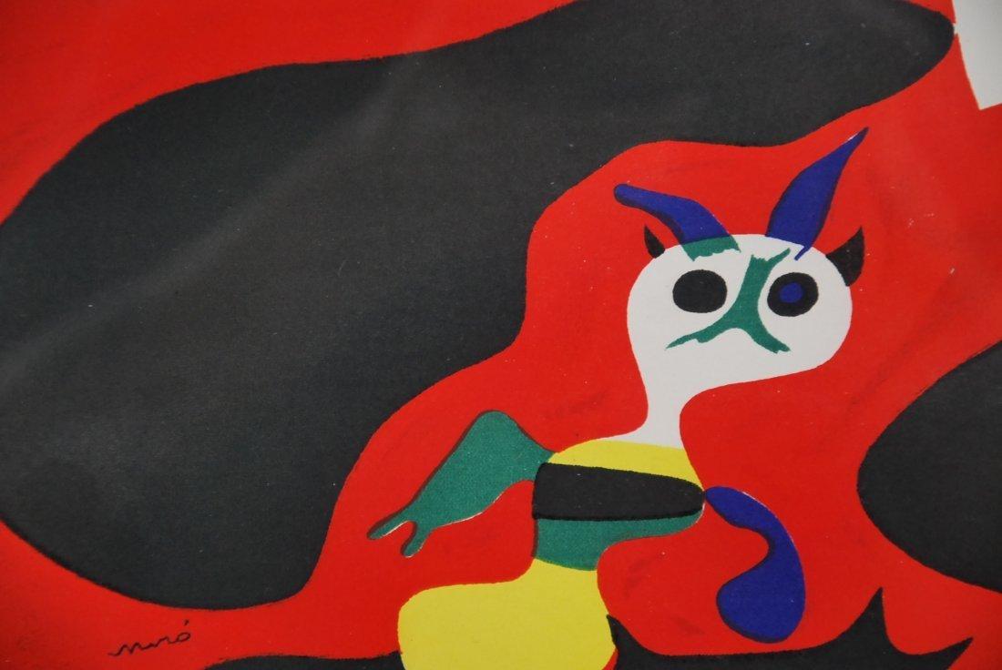"""JOAN MIRO NO RESERVE, """"L ete', """"Summer"""", 1938 - 3"""