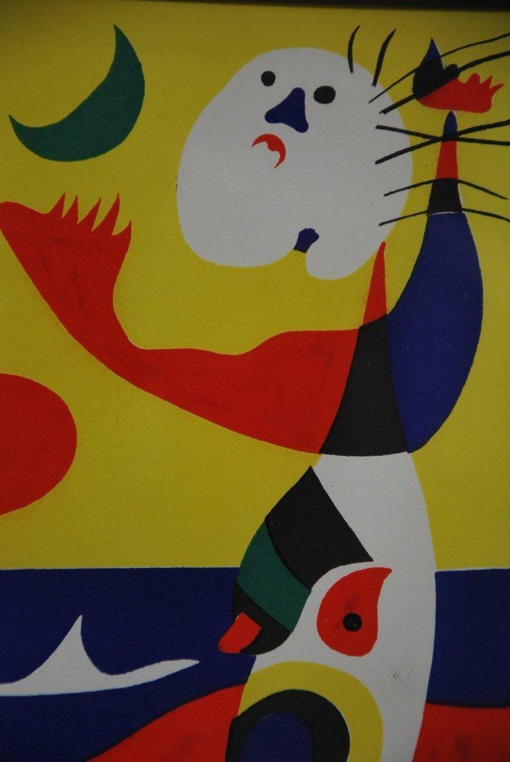 """JOAN MIRO NO RESERVE, """"L ete', """"Summer"""", 1938 - 7"""