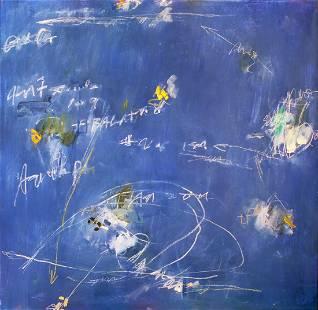 """KIKUO SAITO, (JAPANESE/AMER.)""""NIGHT WEED"""", 1993"""