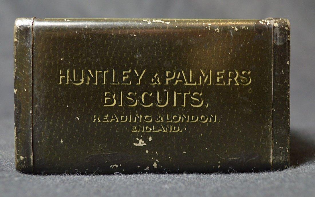 "HUNTLEY & PALMER  ""CAMERA ""  BISCUIT TIN - 6"