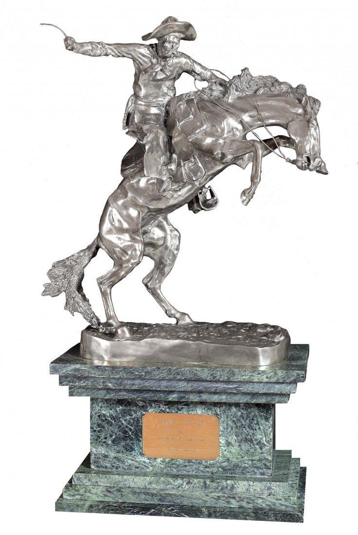 AFTER FREDERICK REMINGTON (1861-1909) SILVER BRONCO