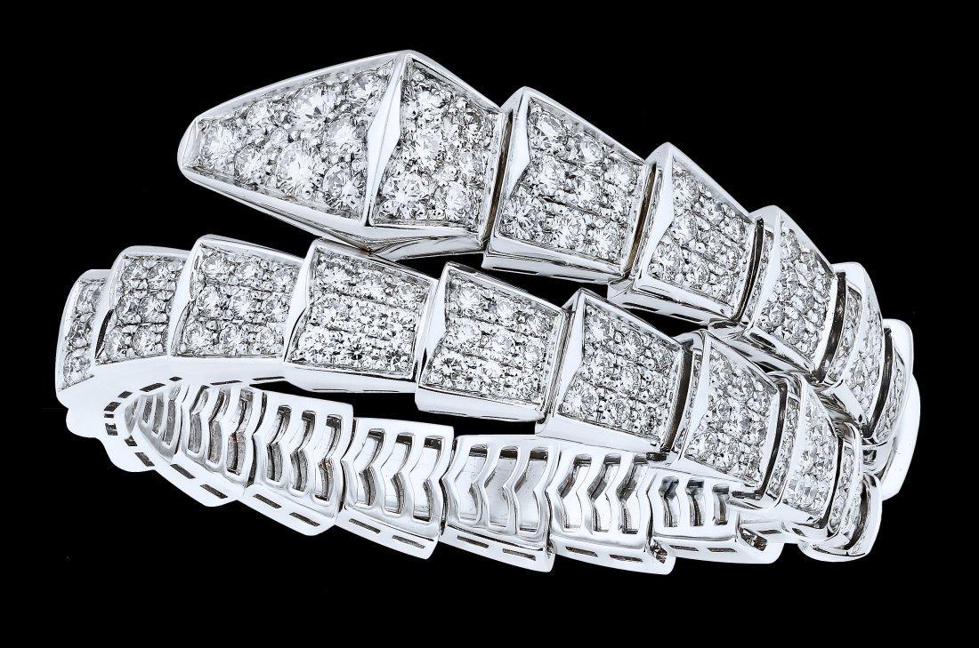IMPORTANT DIAMOND BRACELET, BULGARI