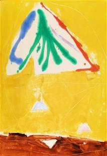 """KIKUO SAITO, (JAPANESE/AMERICAN 1939) _LOGAN'S DAY"""""""