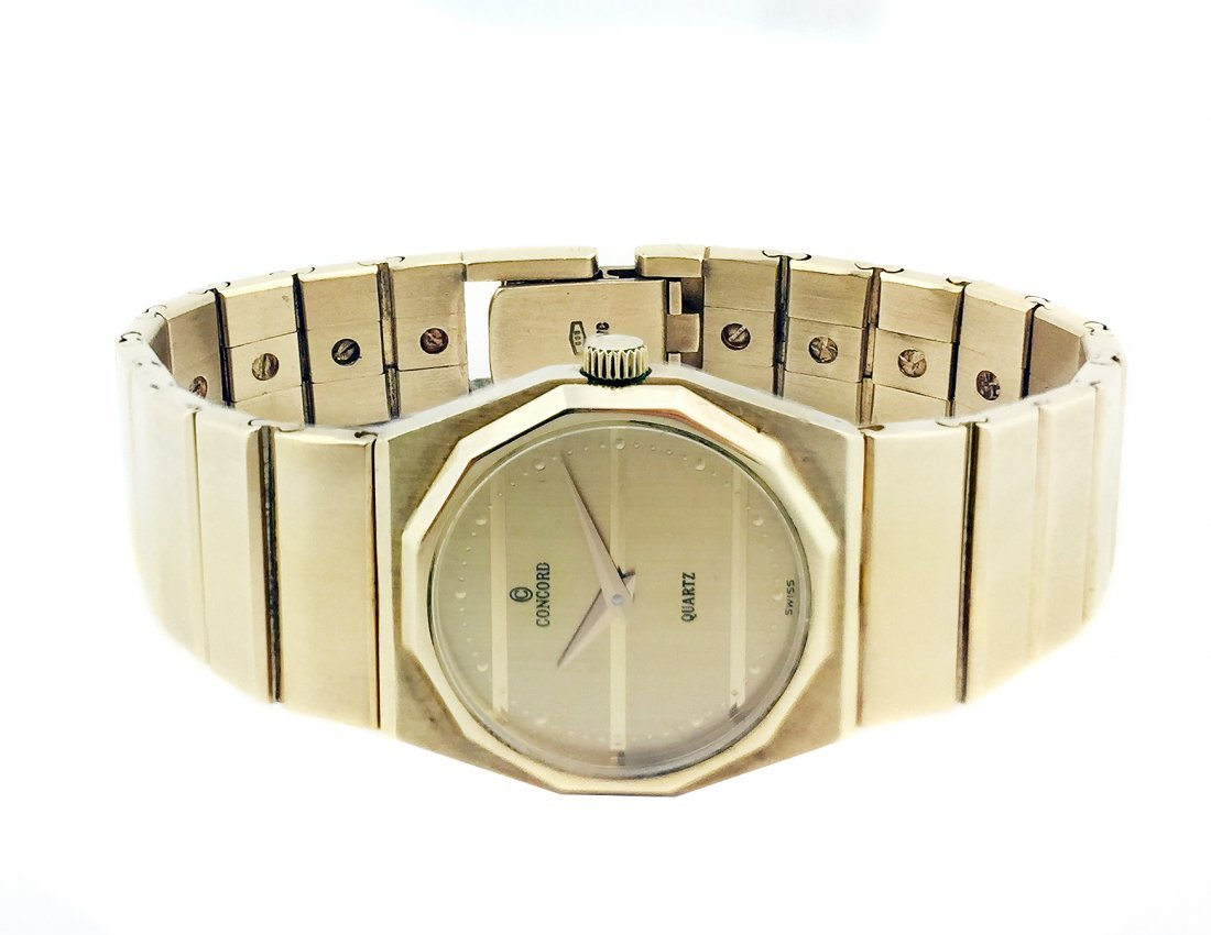 CONCORD A LADY'S YELLOW GOLD   BRACELET WATCH