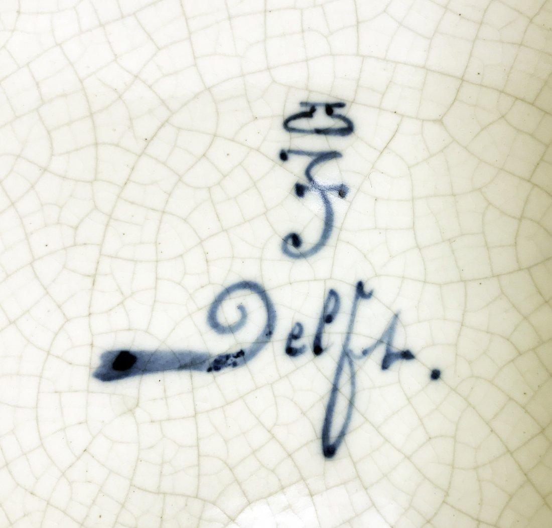 DELFT CERAMIC CHARGER - 2