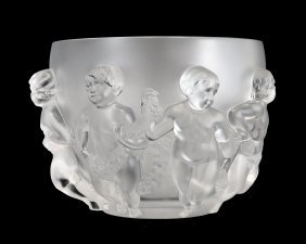 Lalique France 20th Century, 'luxembourg'