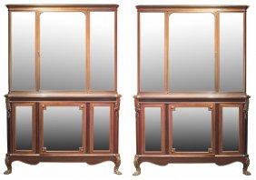 Henry Dasson(1825-1896),pair Very Fine Vitrine Cabinets