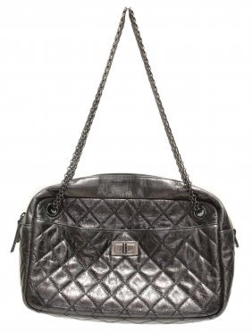 Chanel, Black Leather
