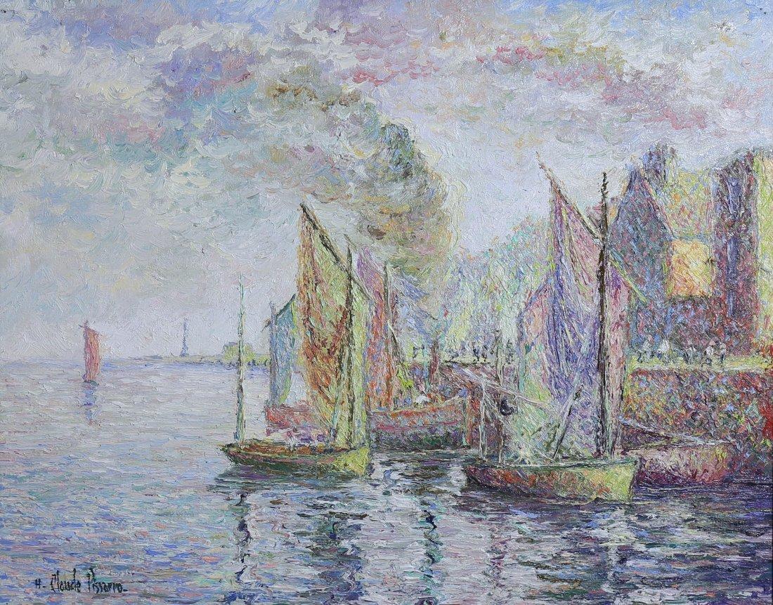 H. CLAUDE PISSARRO, b. 1935