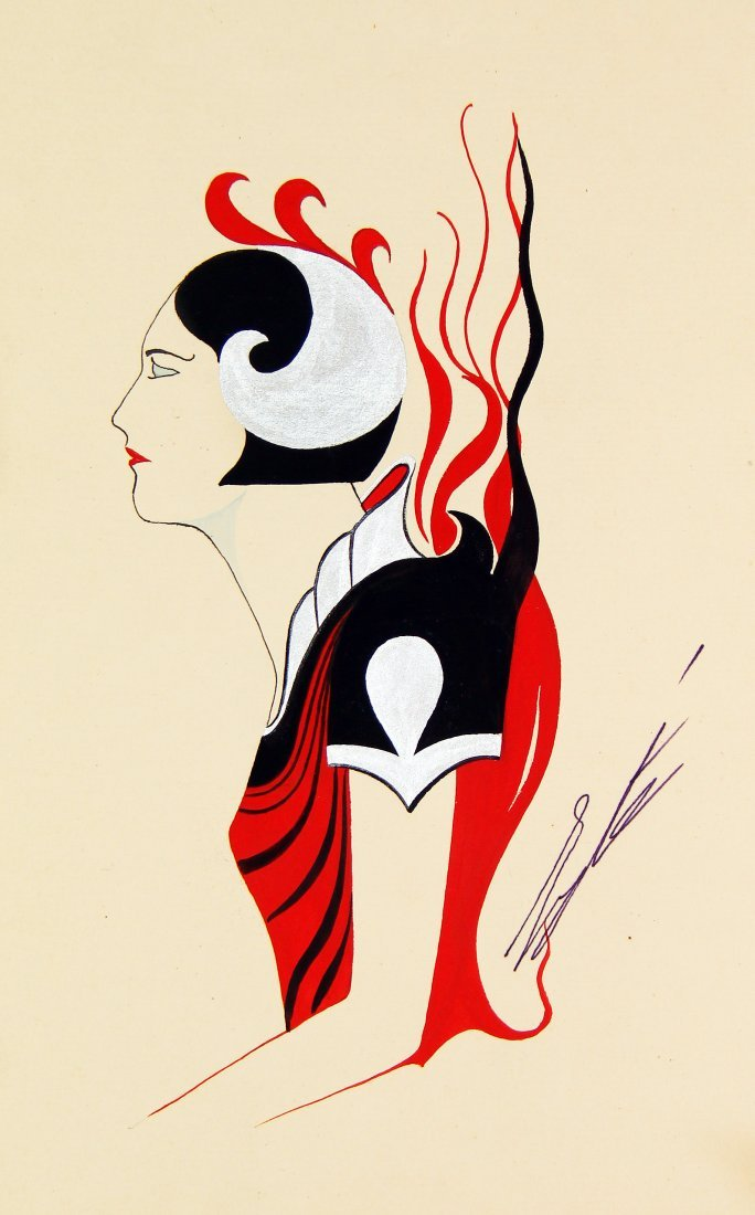 Erté (Romain de Tirtoff) 1892-1990