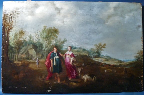 5: Jan I Bruegel Old Master Flemish Painting 17th Centu