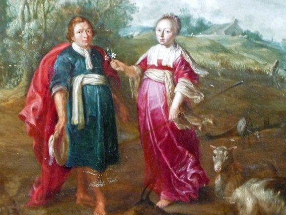 5: Jan I Bruegel Old Master Flemish Painting 17th Centu - 2
