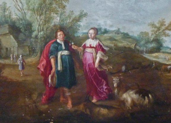 5: Jan I Bruegel Old Master Flemish Painting 17th Centu - 3