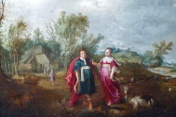 5: Jan I Bruegel Old Master Flemish Painting 17th Centu - 4