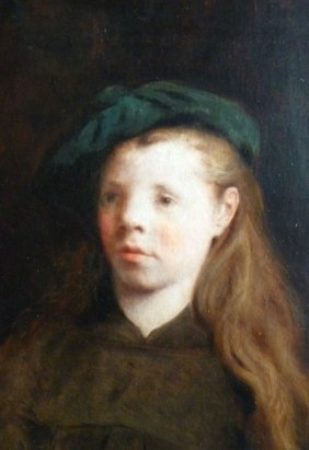 "George De Forest Brush (American 1855-1941) ""Portrai"