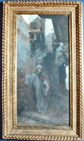 "Charles Wilda (Austria 1854-1907) ""The Blind Arab"" O"