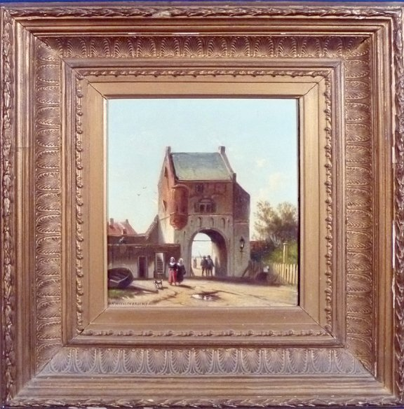 11: Jan Weissenbruch (Netherlands 1822-1880)